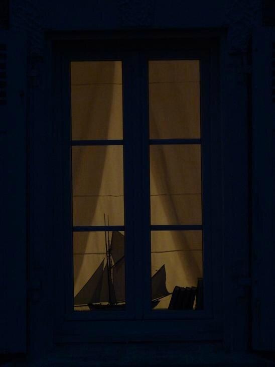 la nuit à Port Lay