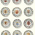 A matched set of twelve Chinese 'famille-verte' '<b>Province</b>' plates, Qing dynasty, Kangxi period