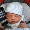 Pour hachette, l'iphone est un jeu d'enfant