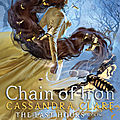 {<b>Cover</b> <b>Reveal</b>} - The Last Hours#2 : Chain of Iron, Cassandra Clare