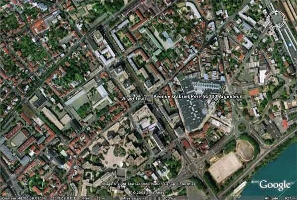 Avenue Gabriel Perri - Argenteuil