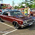 Chevrolet chevelle ss 396 de 1967 (rencard burger king juin 2014)