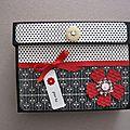 Une boite de cartes pour un cadeau