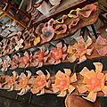 Fleurs en céramique