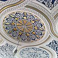 Les modèles de plafond en platre marocain