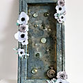 Old treasures - A mixed media <b>canvas</b>