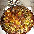 TORTILLAS de pommes de terre/oignons rouges à la crème/*poivrons/<b>pâte</b> à <b>curry</b>