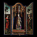 Devotional polychrome dedicated to St. <b>Ursula</b>, early 16th century