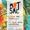 ART EN SAC 2016 SAUGNAC ET CAMBRAN 30 septembre au 2 OCTOBRE