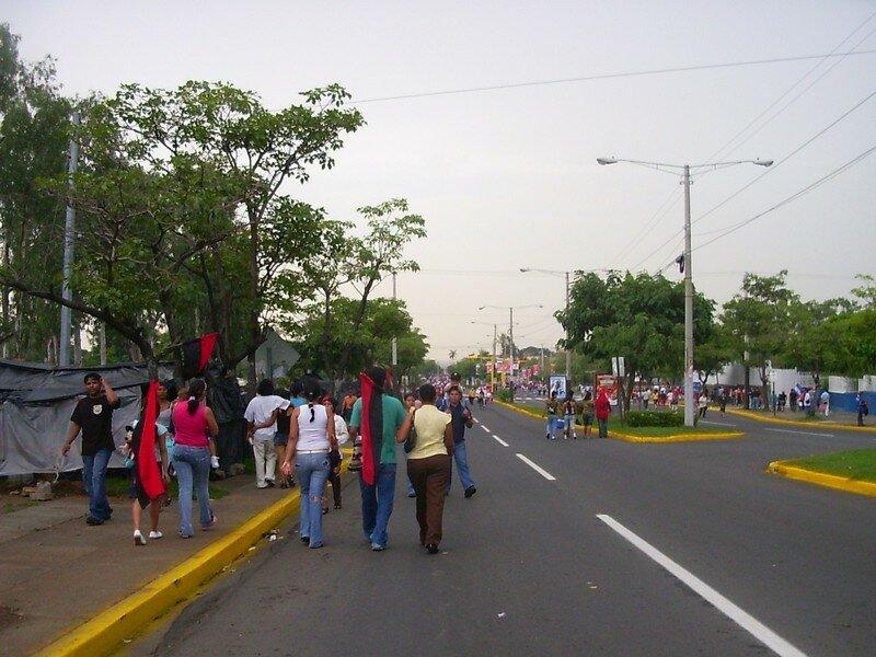 G005 Le 19 juillet : 28 ième anniversaire de la révolution sandiniste