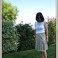 Un été romantique #3 une jupe