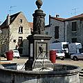 fontaine à Combronde