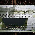 fenêtre dentelle, impression sur aluminium