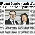 Elections départementales 2015 : L'UMP en ordre de marche !!