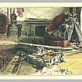Jacquemart, la chambre de Regnault le lendemain de sa mort 1871