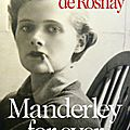 Tatiana de rosnay, manderley for ever