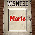 Marie oui mais marie qui ?