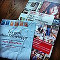 LES GENS DANS L'ENVELOPPE - Roman et enquête écrits par Isabelle MONNIN / Chansons d'<b>Alex</b> <b>BEAUPAIN</b>