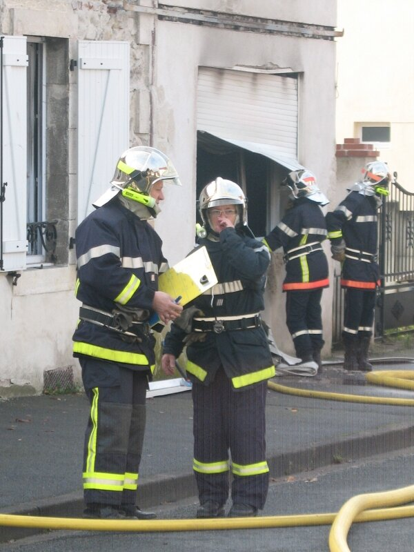 Incendie du 21.11.2010 Commentry