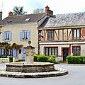 le village de Janvry - place