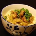 Bribes alsaciennes, porc à la rhubarbe & sticky toffee pudding