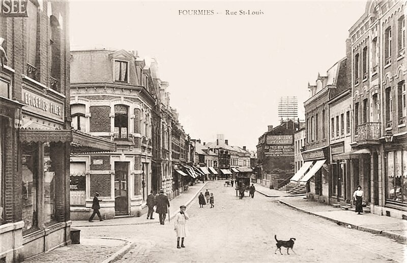 FOURMIES-Rue St-LOouis