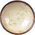 Coupe creuse en grès porcelaineux blanc, Ding yao, <b>dynastie</b> des <b>Song</b> du <b>Nord</b>
