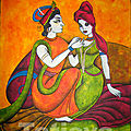 Amour à l'indienne, Radha & Krishna