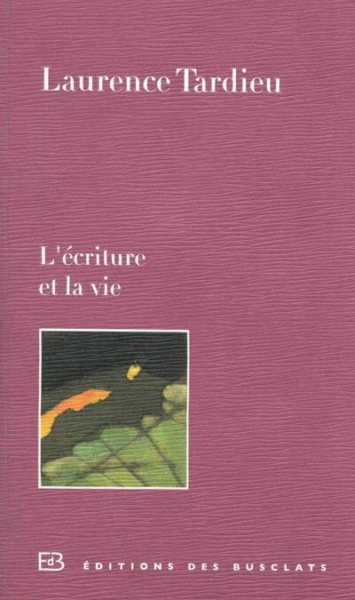lecritureetlavie