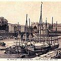 Nantes - Le fond du Port