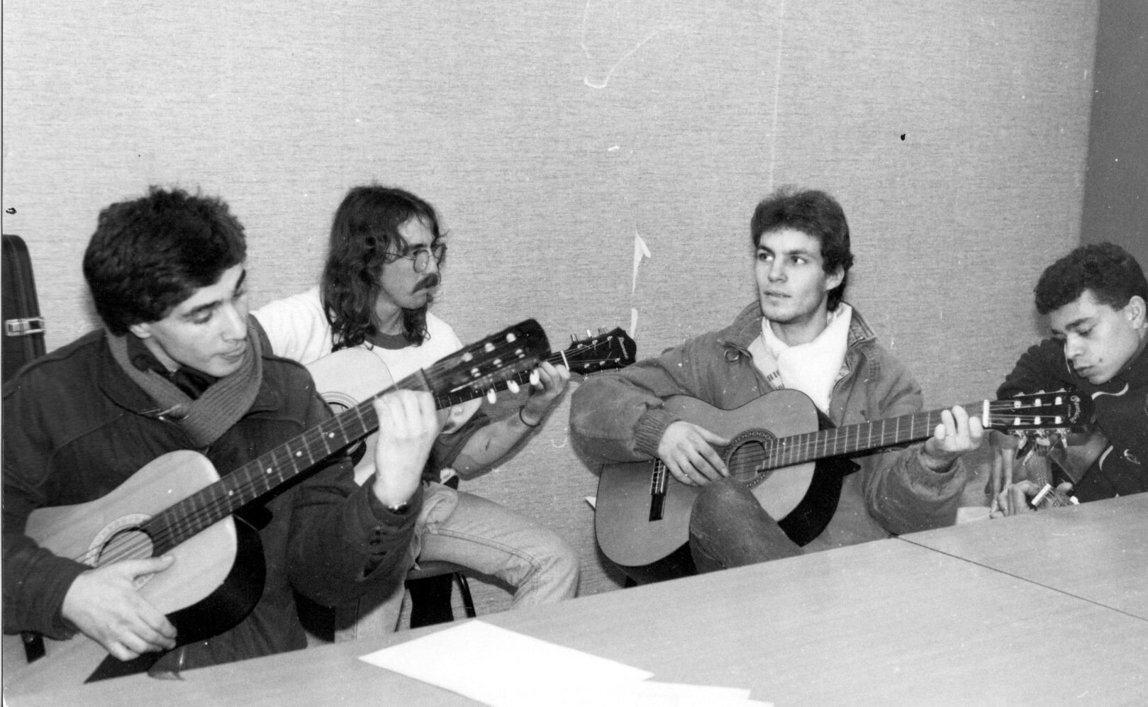 guitare au centre social