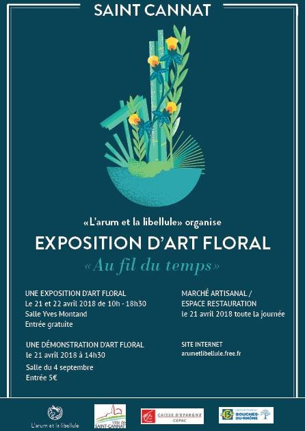 Exposition d'art floral à St Cannat