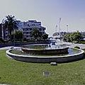 Rond-point à Santander (Espagne)