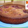 Gâteau molleux aux prunes