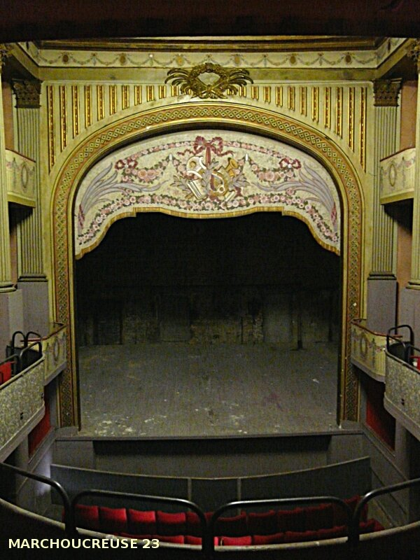 salle spectacle gueret