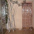 La décoration de la salle ....
