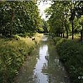 Le canal à Brinon sur Sauldre