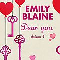 Dear you de emily blaine [+ bonus]