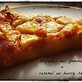 Clafoutis aux pommes & caramel au beurre salé 4/6 personnes : 1,54 euros