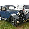 PEUGEOT 601 CR berline 1934 Madine (1)
