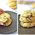 <b>Cookies</b> aux 3 chocolats