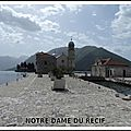 Mon top 10 églises insolites: n°3: notre dame du récif (perast)