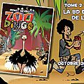 ZOO DINGO la nouvelle série <b>BD</b> déjantée des Editions P'TIT LOUIS