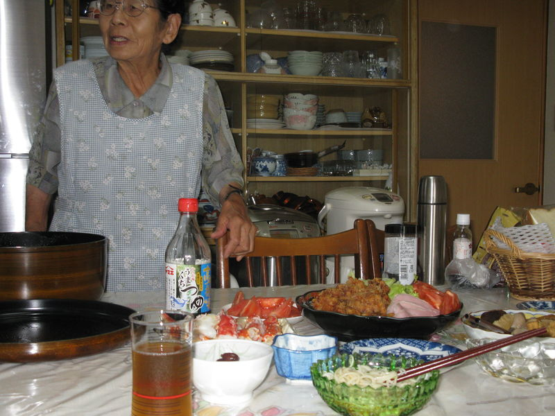 dîner chez la famille de ma collègue de travail