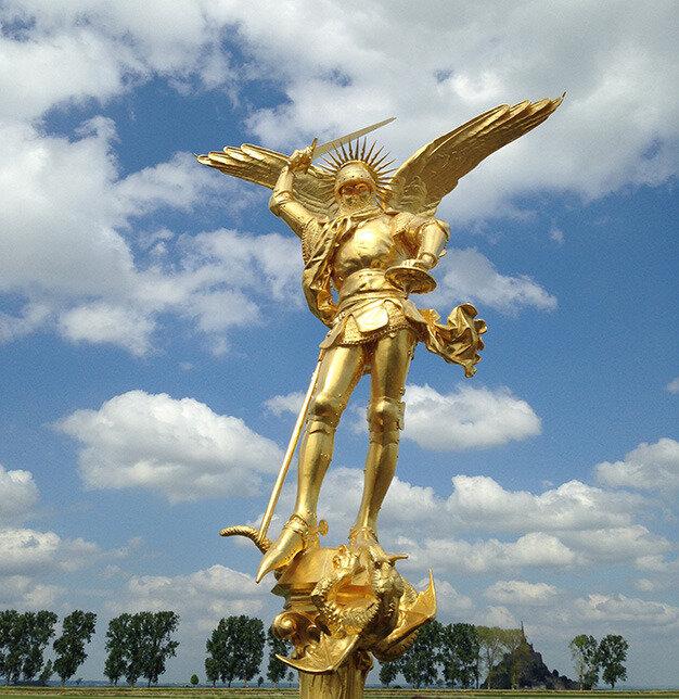 Nouvelle «place des Normands» au Havre… Le jour de la Saint Michel, le patron des Normands!