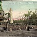 Huê, annam, cours et pagode, tombeau thiêu tri
