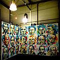 Live painting / la cite des arts / rennes