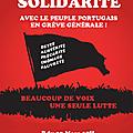 Manifestation de solidarité avec le peuple portugais en grève contre l'austérité : jeudi 22 mars 2012 à paris