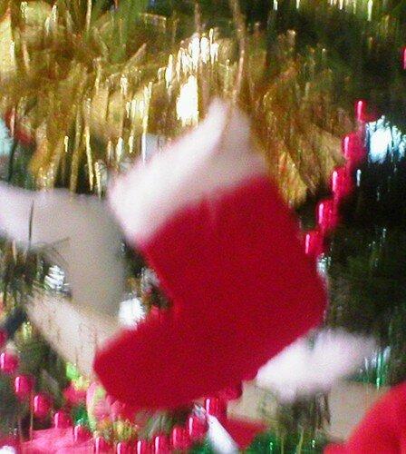 Botte de Noël / Bota de Navidad