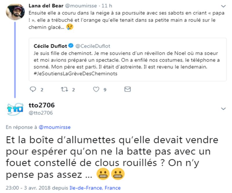 Réponse tweet Duflot